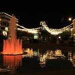 fountain at Easton Town Center