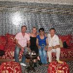 Thierry, Agathe, Maha et Patrick