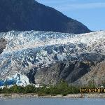 postcard perfect at Mendenhall Glacier & Falls