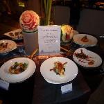 Dinner menu / samples