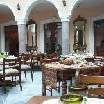 Restaurant im Hotel Patio Andaluz