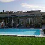 appartamento con piscina privata