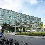 Esterno dell'hotel: maestoso ed avveniristico