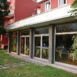 Hotel Brione, exterior of Restaurant