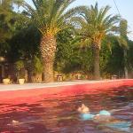 suggestiva ed  originale la piscina