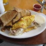 Fisherman's breakfast- This is what it looked like when it got my table. Amazing!