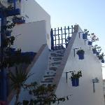 Die Anlage ist einfach herzlich mit viel Liebe zum griechischen Detail
