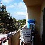 la petite terrasse, parfaite pour les petits déjeuners et diners romantiques