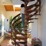 Staircase to our bedroom