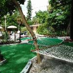 """Mini"" Golf Course and Hammock"