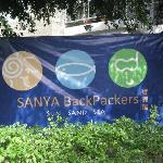 Sanya Backpackers Flag