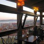 Resto do Chapito - Blick auf Lissabon