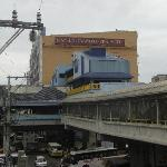 View of Manila Grand Opera Hotel from LRT Doroteo Jose to LRT2 Recto crossway taken 3 June 2010