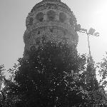 Galata Tower repère pour trouver l'Hostel