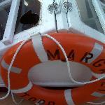 broken glass on Margaret Todd