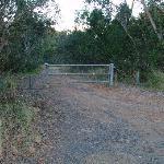 Bambara road entry gate