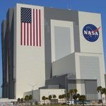 The NASA assembly building