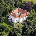 Schloss Ernegg aerial photo