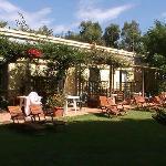 Camere che affacciano sul giardino