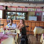 The restaurant at La Haut