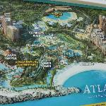 Best & accurate map of Atlantis available, but it's on a billboard