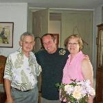 James with Sue and Norm