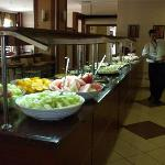 Just some of the food available