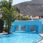 bar piscina + cascata