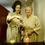 Me & my mum at the Spa at The Slieve Donard