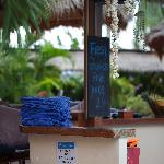 Beach Club Swimming Pool Bar