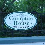 Compton House sign