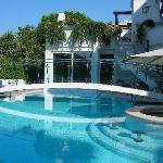 vista piscina hotel Belvedere