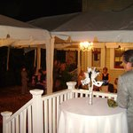 Wedding Reception - Courtyard with Tenting