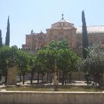 les jardins de la mosquée