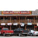 Front of the Cloudcroft hotel