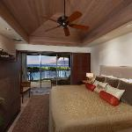 Master Bedroom in a Two Bedroom w/Loft Premier Townhome at Puunoa Beach Estates