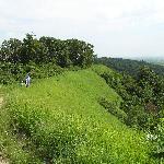 Sunset Ridge trail at Waubonsie SP