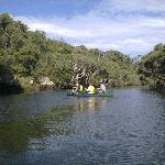 canoeing on Margaret River