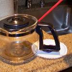broken coffee pot