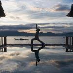 vedana lagoon morning yoga