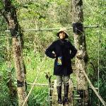 Jan on the bridge