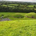 From atop Knowth tomb