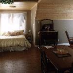 Bedroom Alcove in Suite