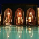 Villa JENAIMA Marrakech : encore plus belle la nuit
