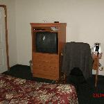 TV armoire and desk