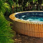 Huge hot-tub (with room for 12 people!)