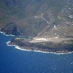 Approaching Saba Island