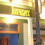 ImprovAcadia signage.