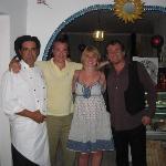 Juan, Me, Fi and Peter