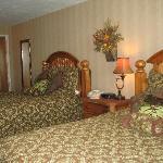 Bedroom of Skyline Suite.